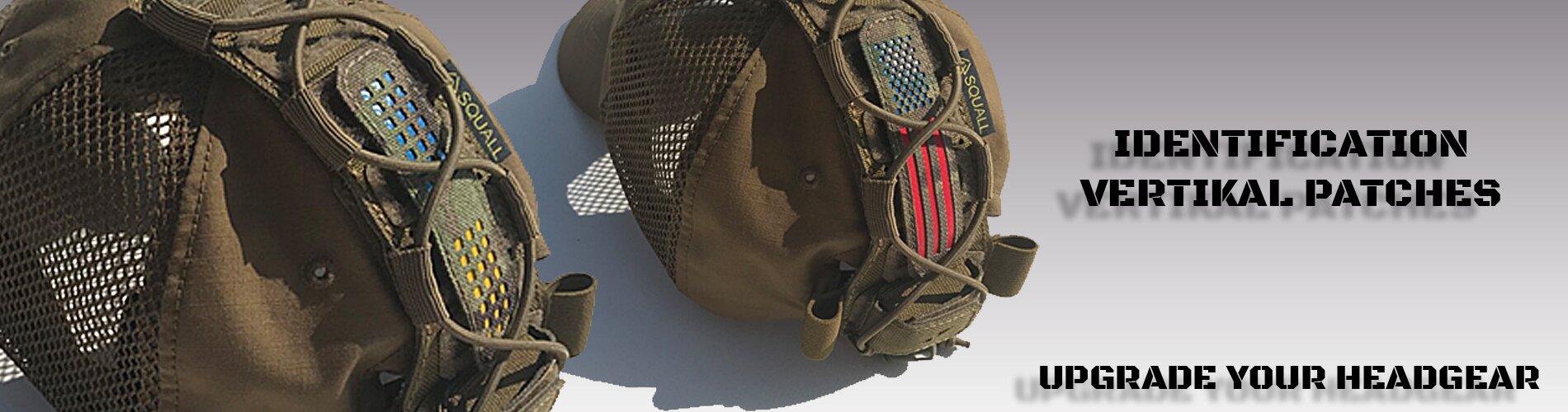 Шеврон национальный|на шлемы, кепки с велкро-панелями